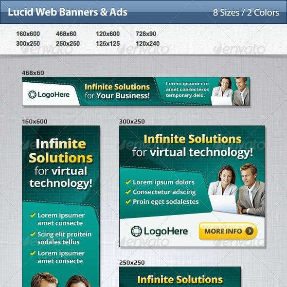 Lucid Web Banners & Ads