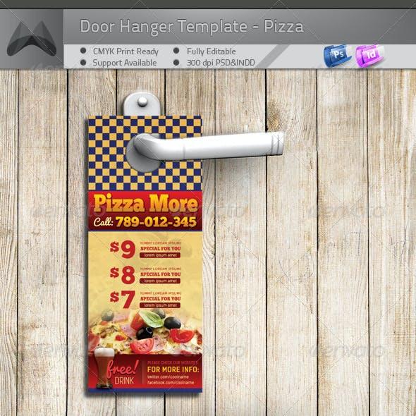 Door Hanger - Pizza More