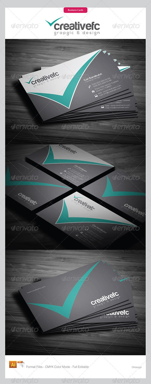 Corporate Business Cards 342 - Corporate Business Cards
