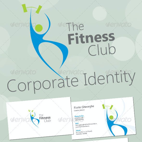 The Fitness Club Corporate Identity