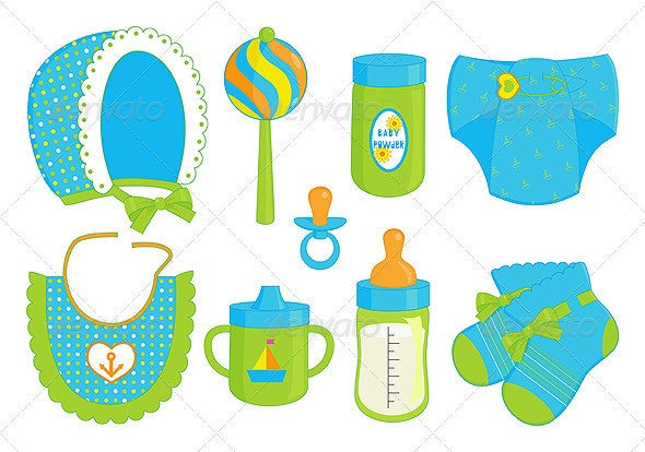 Accessories for baby boy - Man-made Objects Objects