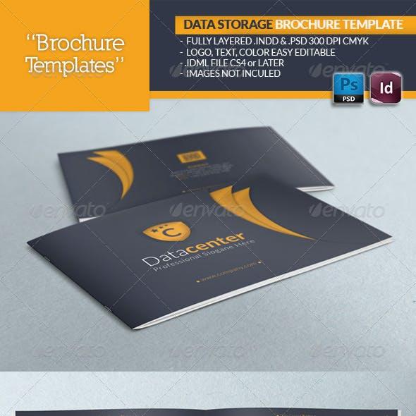 Data Storage Brochure Template