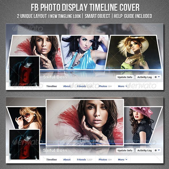 Facebook Photo Display Timeline Cover