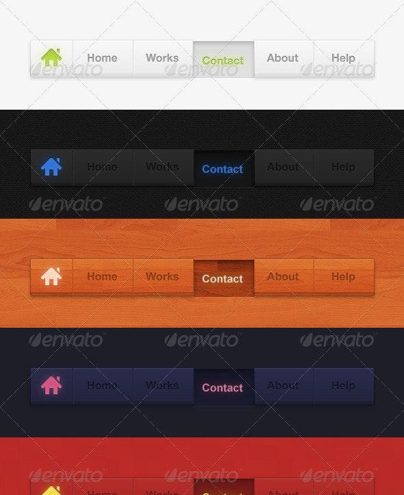 Navius - Navigation Bars Web Elements