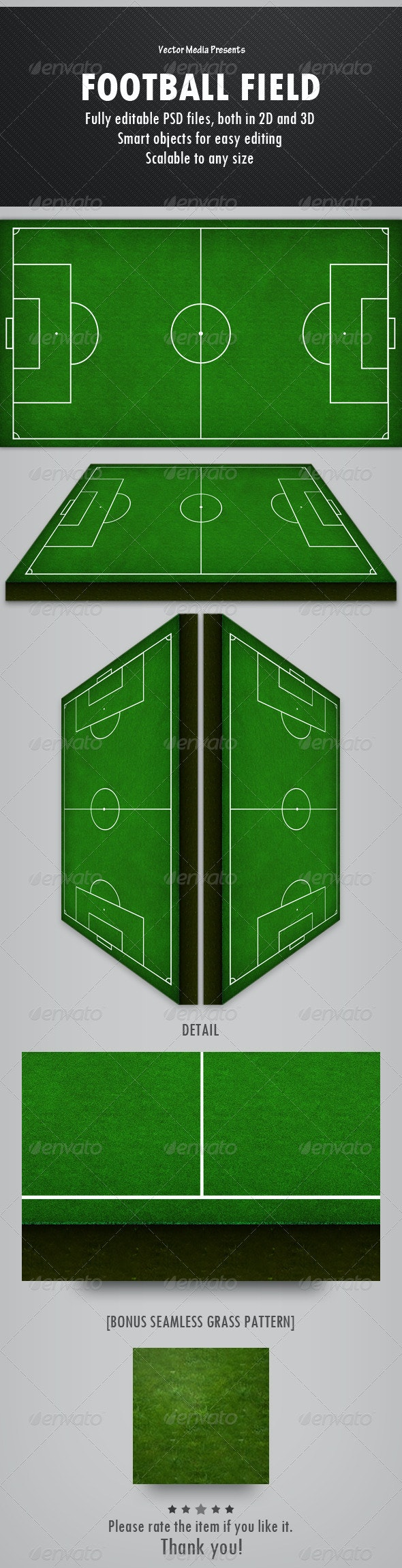 Football Field - Miscellaneous Graphics