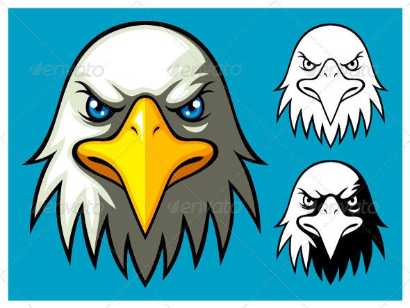 Bald Eagle Head - Animals Characters