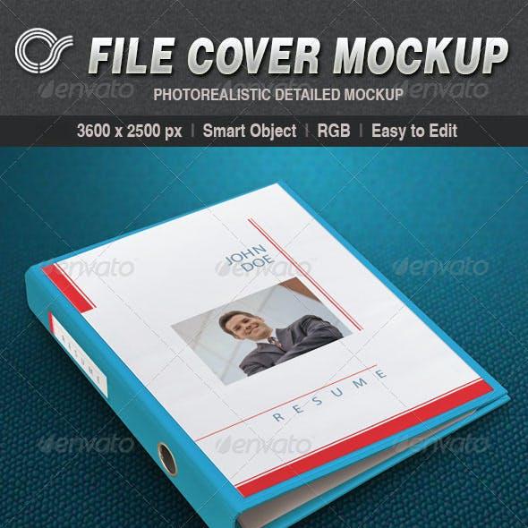 CS File Cover Mockup