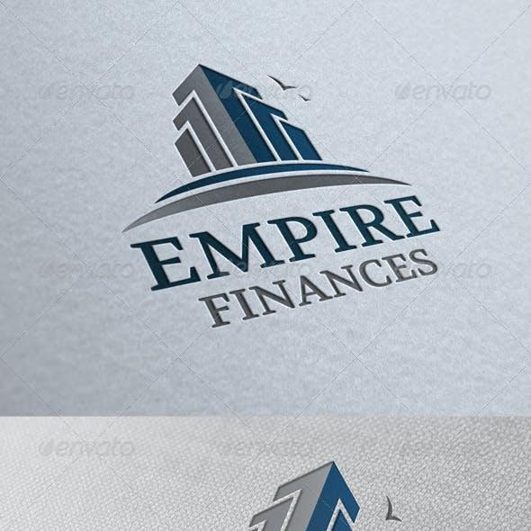 Empire Real Estate Logo Template