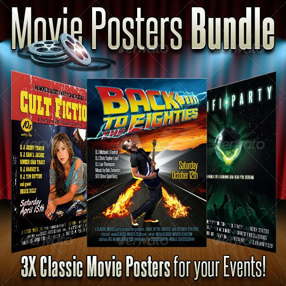 Movie Posters Bundle