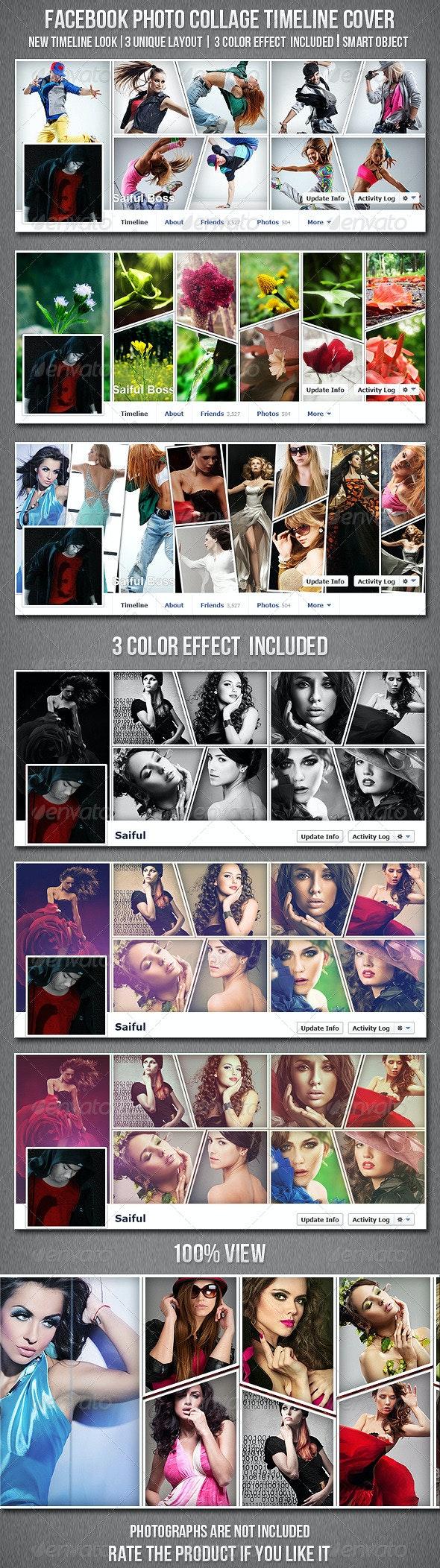 Facebook Photo Collage Timeline Cover - Facebook Timeline Covers Social Media