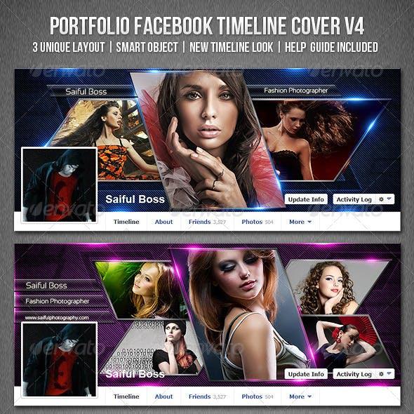 Portfolio Facebook Timeline Cover V4