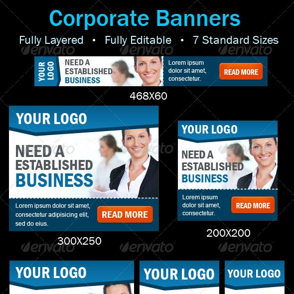 Corporate Business Banners