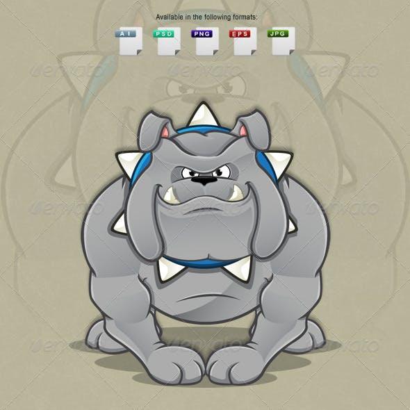 Cartoon Bulldog Character