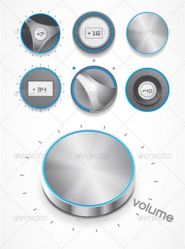 Volume knobs - Media Technology