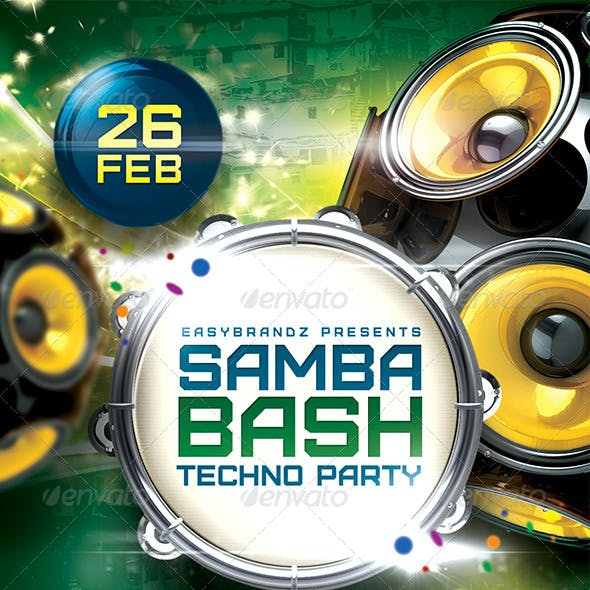 Samba Bash Flyer Template