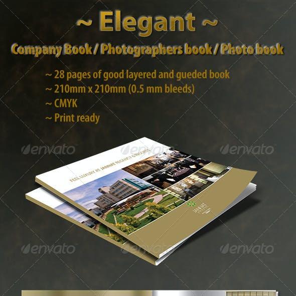 Elegant Company Book Template