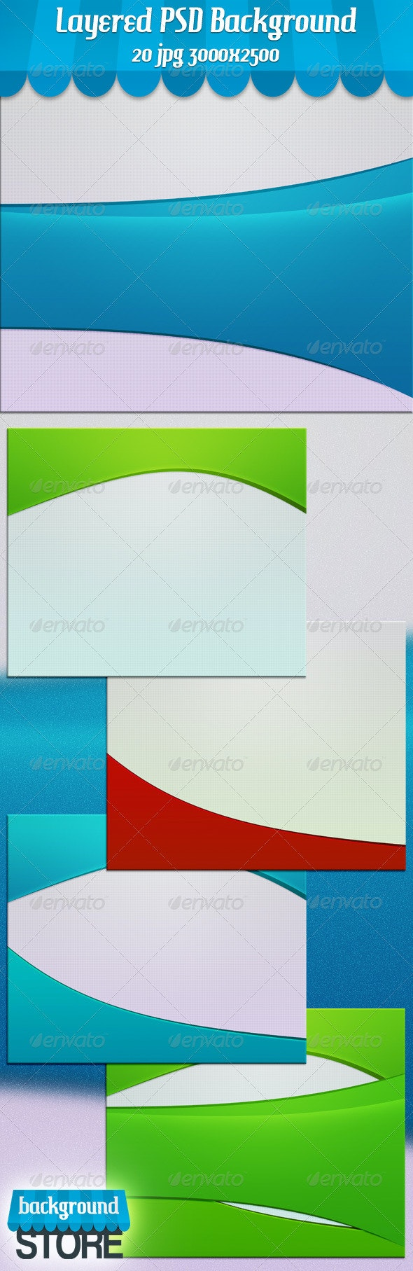 Simple Clean Background - Business Backgrounds