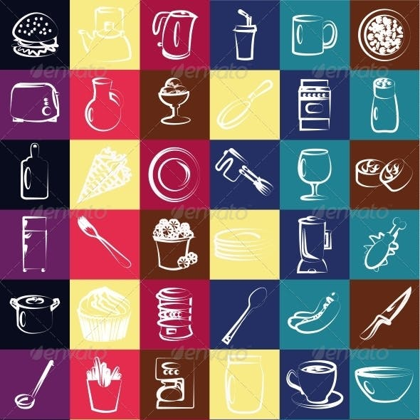 kitchen Vector Icon