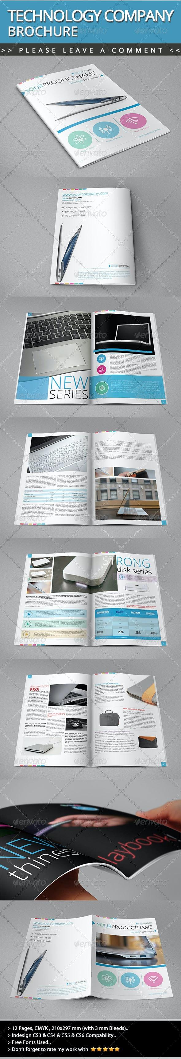 Technology Company Brochure V01 - Informational Brochures