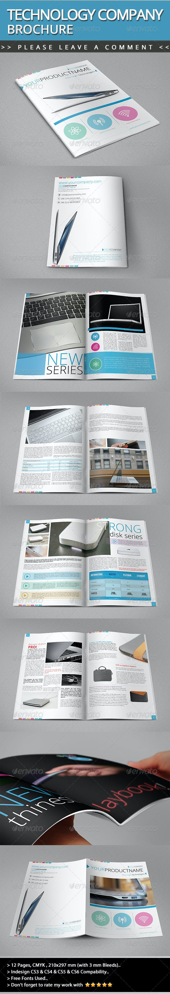 Technology Company Brochure V01 - Informational Brochures
