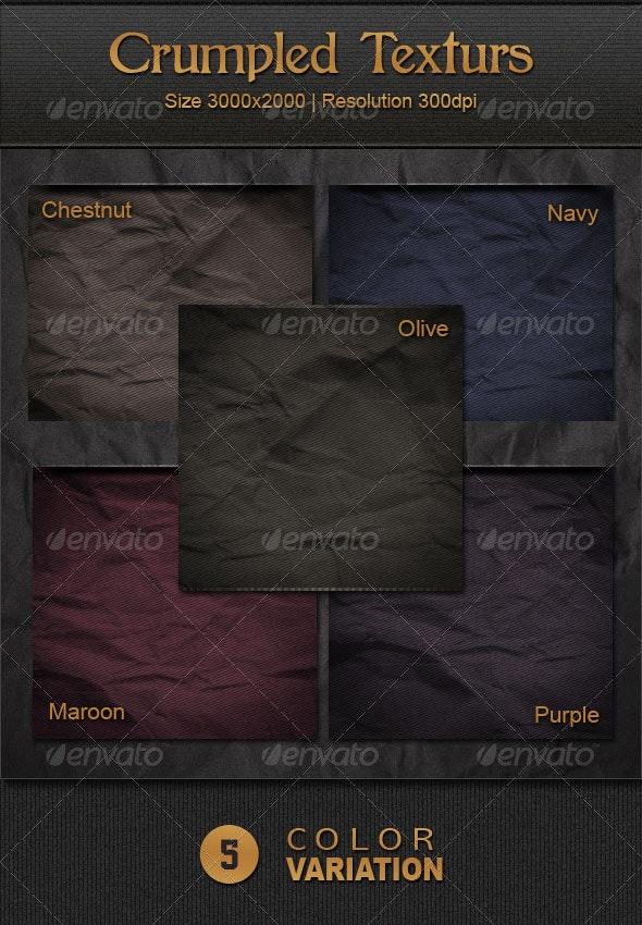 Crumpled Textures - Backgrounds Graphics