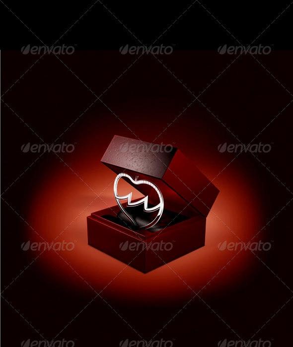 Broken Heart Jewel Box