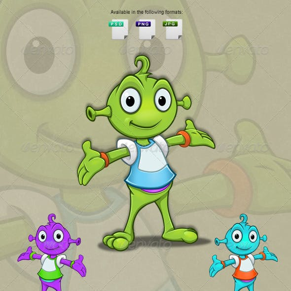 Alien Character - Presenting