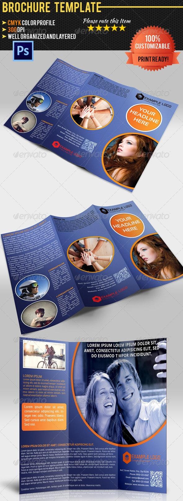 Multipurpose Tri-Fold Brochure Vol.2 - Corporate Brochures
