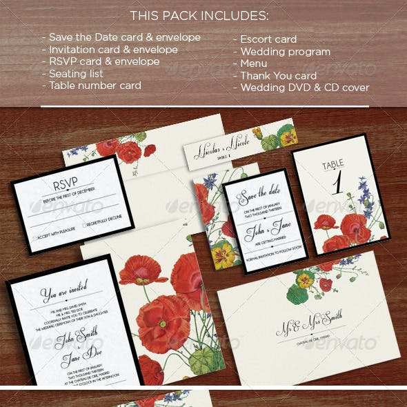 Flora: Wedding Pack