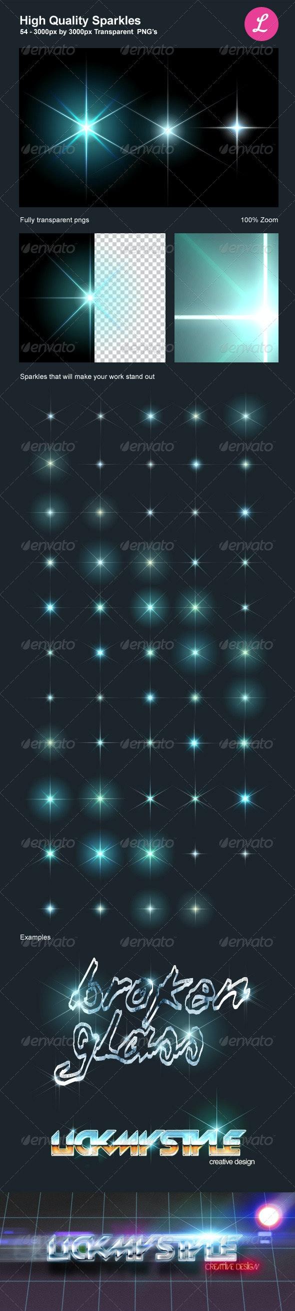 High Quality Sparkles - Decorative Graphics