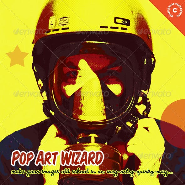 Pop Art Wizard - Stencils Pictures Maker