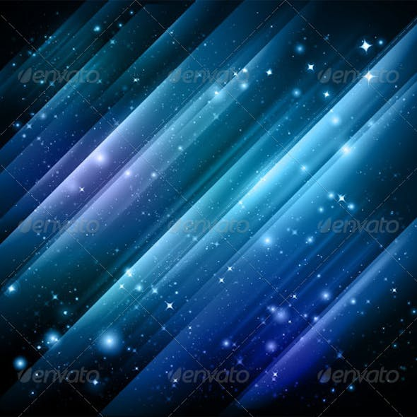 Abstract lights blue background - Vector + jpg