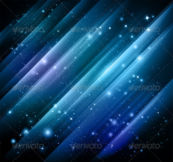 Abstract lights blue background - Vector + jpg - Abstract Conceptual