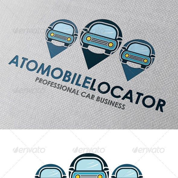 Car Locator Logo Template