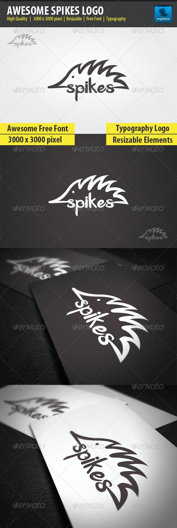 Amazing Spikes Logo - Animals Logo Templates