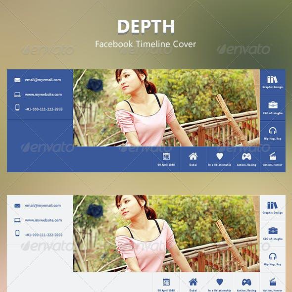 Depth Facebook Timeline Cover