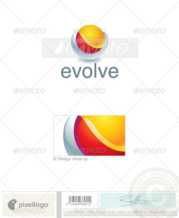 Technology Logo - 2323 - Abstract Logo Templates