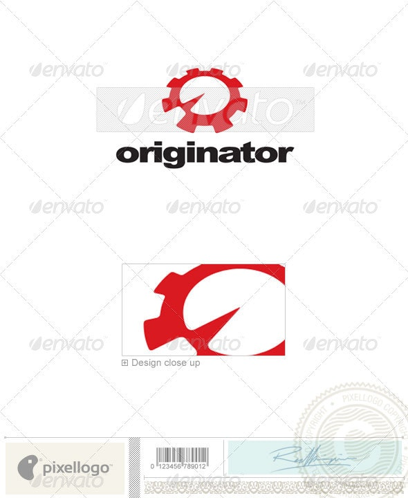 Industry & Science Logo - 2327 - Vector Abstract