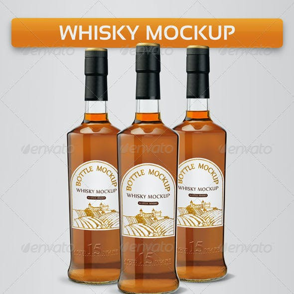 Whisky Mock-Ups