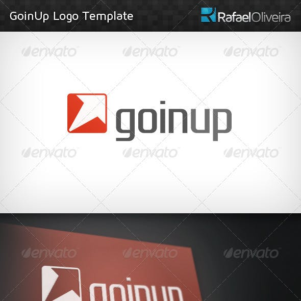 GoinUp Logo Template