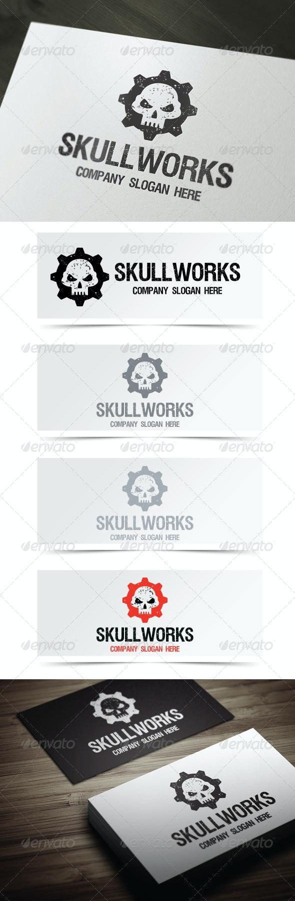 Skull Works - Objects Logo Templates