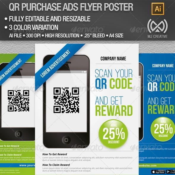QR Advertisement & Promotion Poster