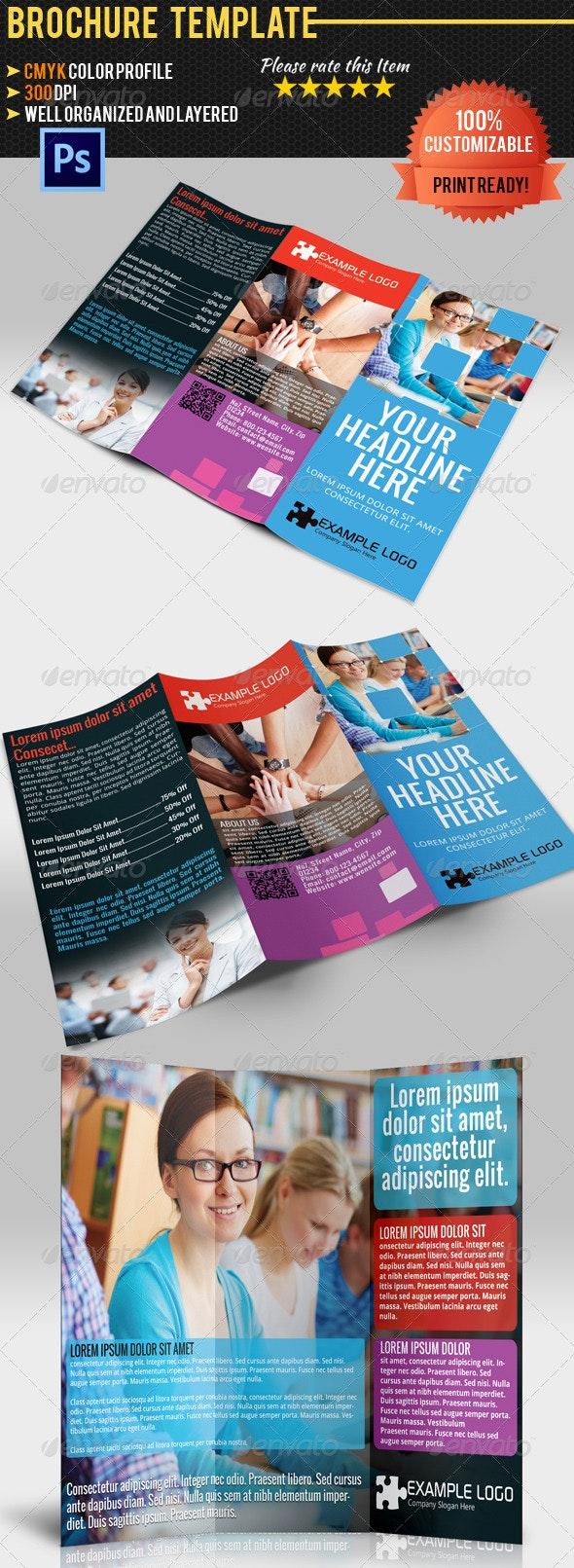 Multipurpose Tri-Fold Brochure Vol.1 - Corporate Brochures