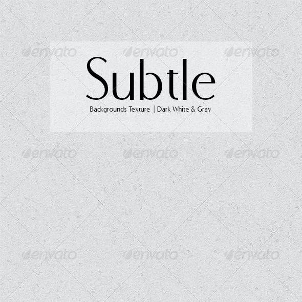 Subtle Backgrounds Texture - Dark White & Gray