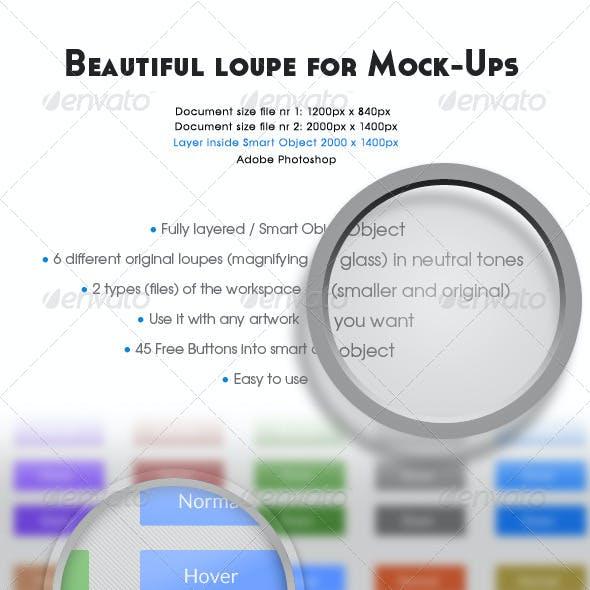 Universal Loupe and Zoom Mock-Ups vol.2