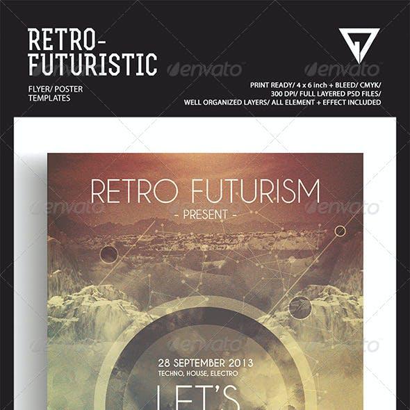 Retro Futuristic Flyer/Poster