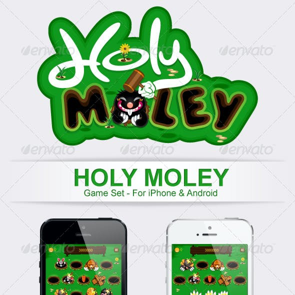 Holy Moley Game Pack Bundle Set