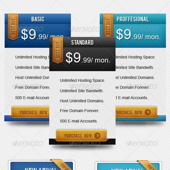 Modern Pricing Box