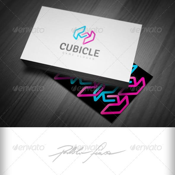 Abstract Letter S - Puzzles - Gamer & Tech IT Logo