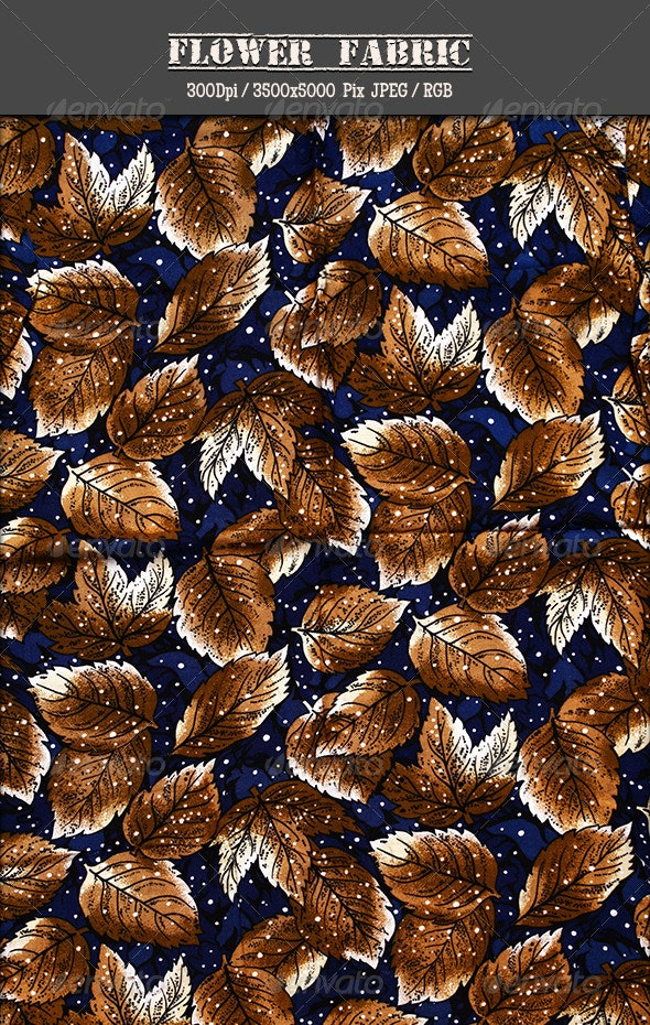 Flower Fabric 6 - Fabric Textures